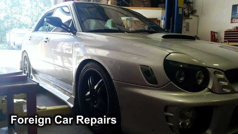 Foreign Car Repairs